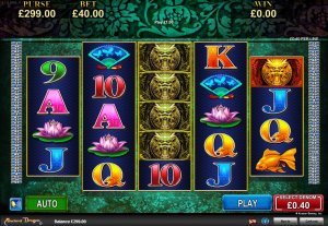 Ancient Dragon Online Slot Game By Konami