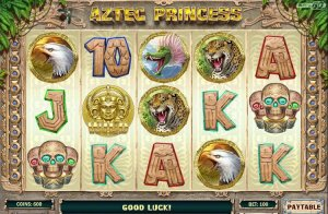 Aztec Princess Online Slots Casino Game Reviewed