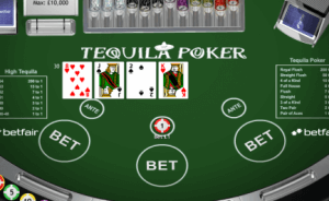 Explanation of Online Tequila Poker for Players