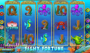 Fishy Fortune Slot Review for Internet Based Casino Players