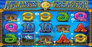 Playing Atlantis Treasure Slots by Mazooma Interactive